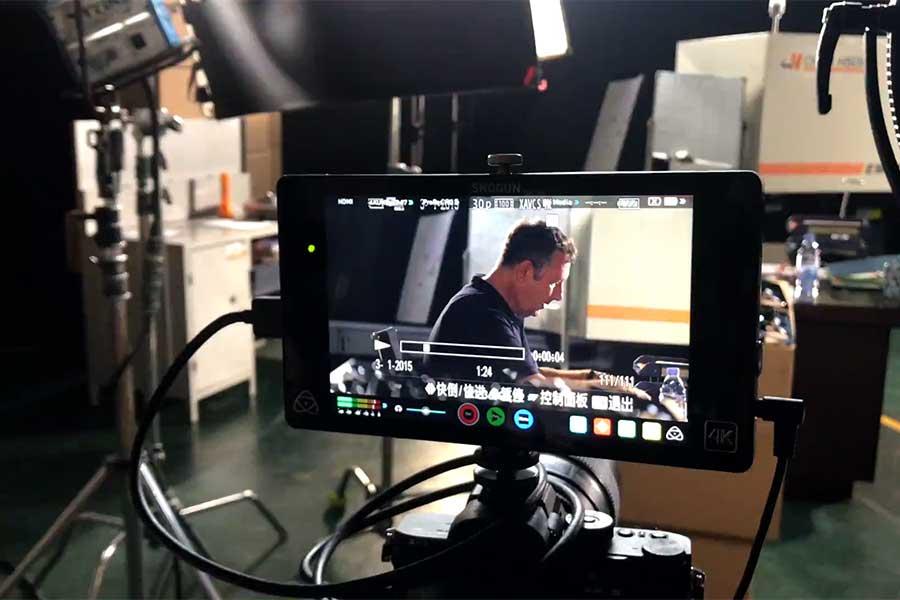 影片製作第三階段 - 正式開拍