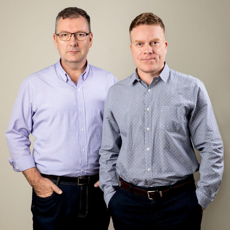 國際觀行銷公司的兩位負責人 - Nick & Nathan